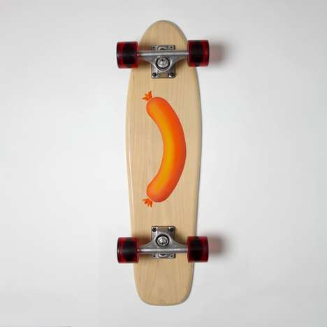 Heritage-Inspired Skateboards - The Skills or Skulls Skateboards Collection is Handcrafted