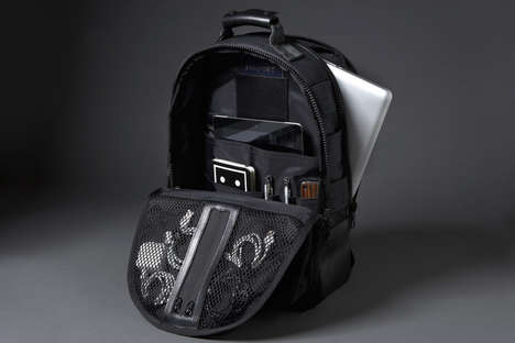 20 Backpacks with Maximized Storage - From Multi-Compartmented Bags to Geometric Industrial Carriers