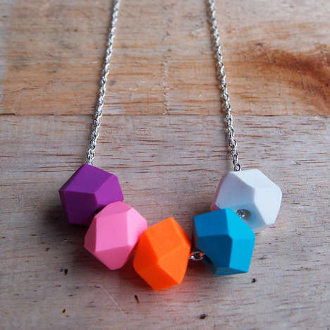 Playfully Polygon Accessories - Etsy