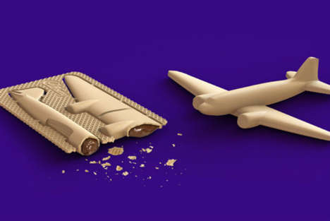 Edible Chocolate Toys - The Cadbury Choco Fix Encourages Kids to Step Away from Digital Devices