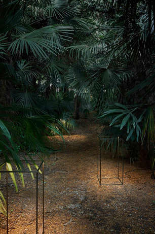 Minimalist Geometric Lighting - The Ipnos Outdoor Light by FLOS is Sculpturally Contemporary