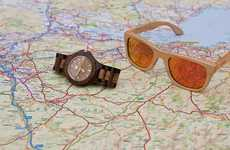 Sustainable Wooden Sunglasses - Woodsies's Uber Cool Sunglasses are the Perfect Accessory for Summer