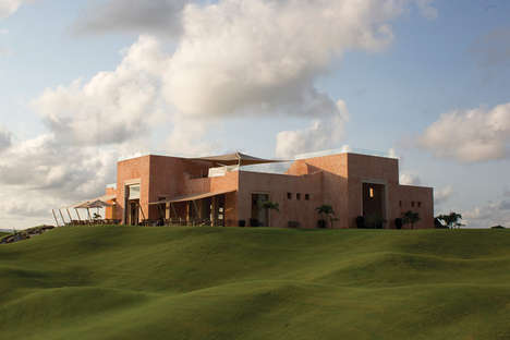 Energy-Conscious Club Houses - The Vipingo Club House in Kenya is Perfect After a Long Day of Golf