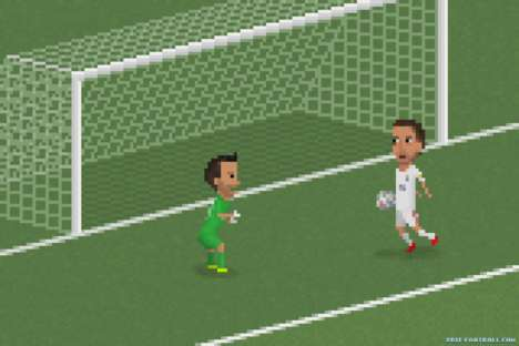8-Bit Soccer Artwork - Matheus Toscano