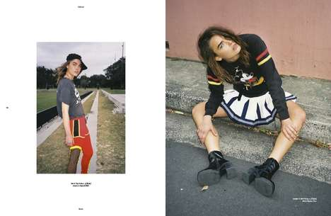 Urban Wild Child Editorials - Bambi Northwood-Blyth Stars in the First Issue of SRC783 Magazine