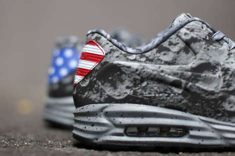 Historical Lunar Sneakers - The Nike Air Max Lunar90 SP Shoes Celebrate Neil Armstrong