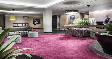 Open-Concept Hotel Lobbies - Mercure