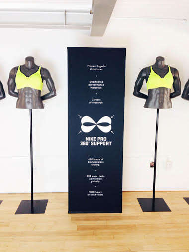 Sports Bra Pop-Ups - The 548 Richmond NTC Shop Showcases the Revolutionary Nike Pro Rival Bra