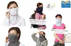 Facial Sunblock Garments