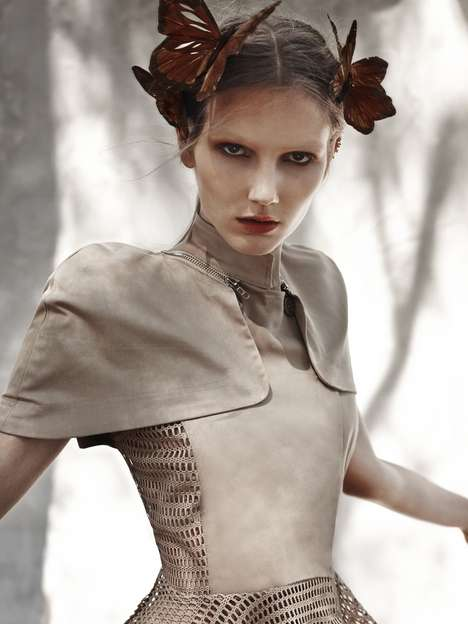 Fairy Tale Editorials - Fashion Gone Rogue's 'Never the Same Girl Twice' Stars Olga and Natalie