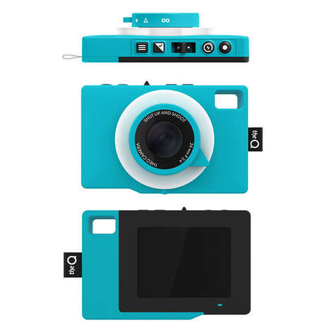 Waterproof Social Cameras - TheQ Camera is a Colorful Option for Summer Vacations