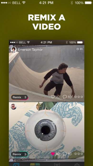 Video Remixing Apps - Sympler is a Video Editing App That Helps You Mix and Remix Endless Creations