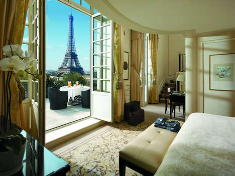 Palatial Parisian Hotels - The Shangri-La Hotel Paris is Now Recognized with Palace Status