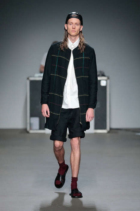 Contemporary Grunge Attire - EVAN Menswear Spring/Summer 2015 Collection is 90s Inspired