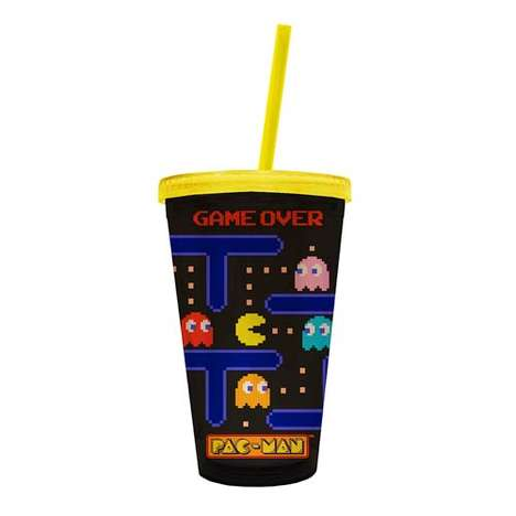 Gamified Arcade Cups - The Pac-Man Game Over Travel Mug is Perfect for Serious Video Game Fans