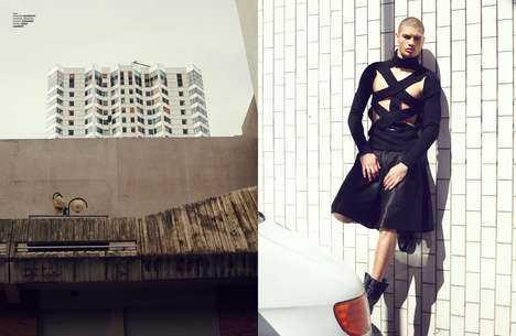 Vanguard Inner City Editorials - The Ones 2 Watch In The Zone Fashion Story Highlights Luxe Looks