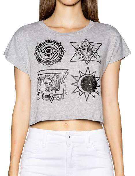 Edgy Occult Tees - Pixie Market
