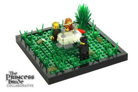 Cinematic LEGO Dioramas - These Princess Bride Scenes are Reconstructed Using LEGO Building Blocks