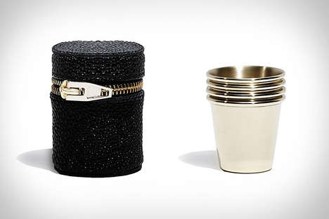 Designer Shot Glasses - These Unique Shot Glasses by Alexander Wang Make Drinking a Stylish Affair