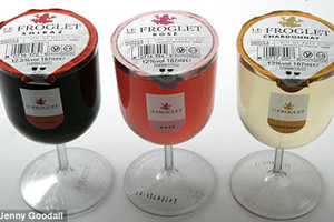 14 Examples of Single Serve Alcohol - From Alcoholic Coconut Water to Lidded Wine Glasses