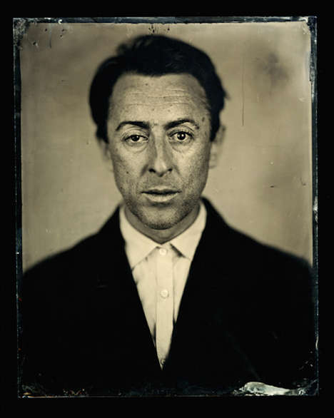 Manipulated Era Portraits - These Vintage-Looking Portraits are Actually Brand New