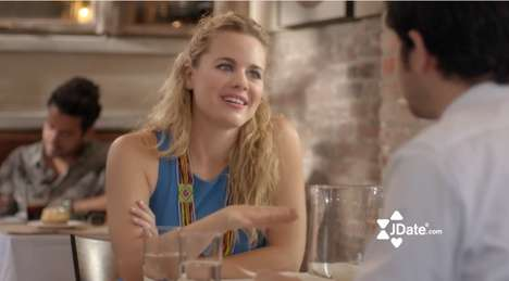 Camp Loving Romance Ads - This Lighthearted Jewish Dating Service Commercial Pokes Fun at Camp