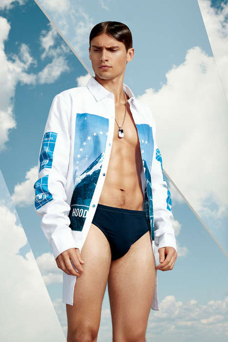 Luxuriously Sporty Editorials - VMAN