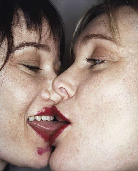 French Kissing Couples - Snog by Rankin Captures Close Ups of Tongue-on-Tongue Action