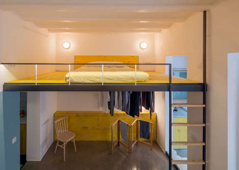 Cheerfully Upcycled Apartments - This Barcelona Apartment is Designed From Residual Materials