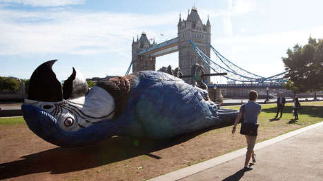 Dead Parrot Installations - London Celebrates the Monty Python Parrot Sketch and Reunion Shows
