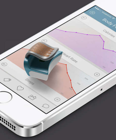 Ear-Fitted Health Trackers - The FLIP Wearable Medical Device Attaches to Your Ear Like a Small Cuff
