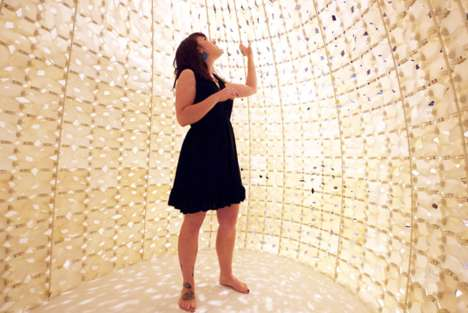 3D-Printed Salt Igloos - The Saltygloo by Emerging Objects is a Sustainable Structure