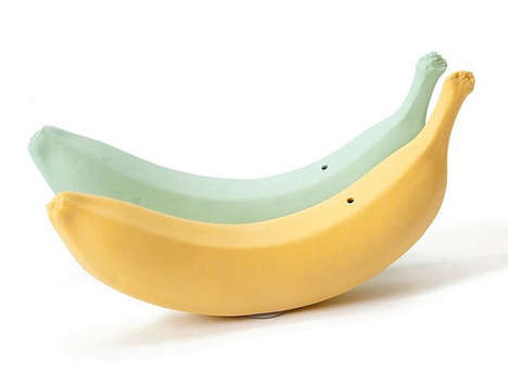 Bold Banana Housewares - Etsy User Michiko Shimada Creates Fruit-Inspired Salt and Pepper Shakers
