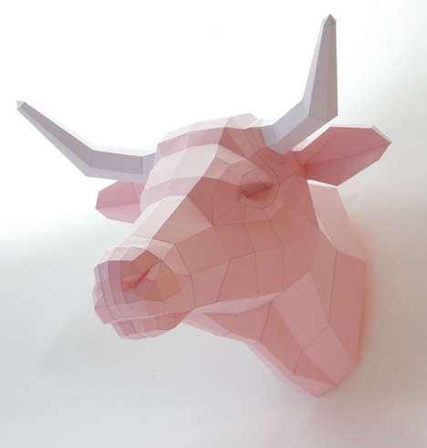 Faux Origami Taxidermy - Etsy
