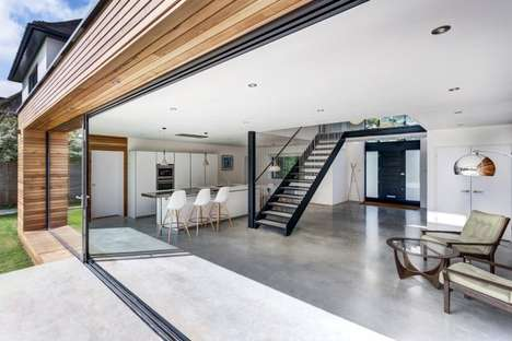 Airy Atmospheric Abodes - The Kilham House Features a Spacious Interior Design
