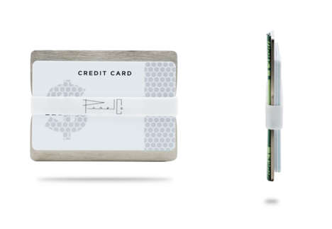 Thin Metal Wallets - Panel is an Ultra Slim Wallet Design for Just Cash and Cards