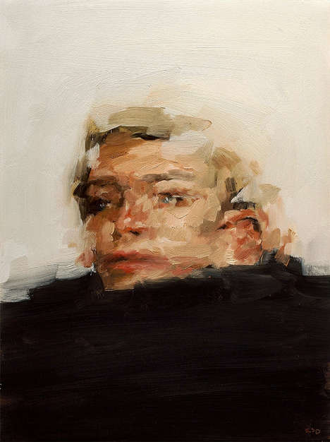 Ambiguously Blurred Portraiture - Etsy User Kai Samuels-Davis Creates Visually Striking Paintings