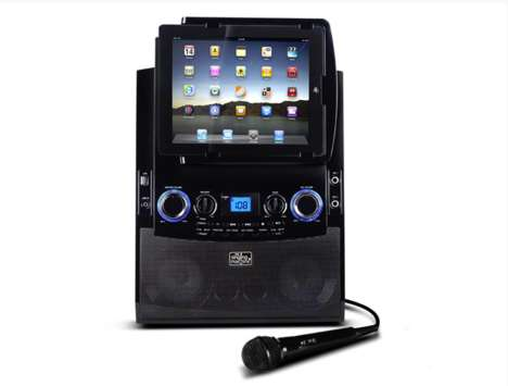 Tablet Karaoke Machines - This iPad Karaoke Machine is Ideal for Practicing at Home for Real Karaoke