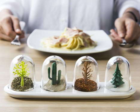 Seasonal Condiment Shakers - The Four Seasons Seasoning Shaker Will Add Flavor to Food Year-Round