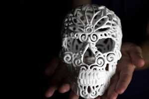 The Sugar Lab Has Created 3D-Printed Skulls To Sweeten Your Coffee