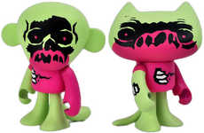 Illuminating Zombie Toys - Van Beater's Glow-in-the-Dark Crapzombies are Exclusive for Comic-Con