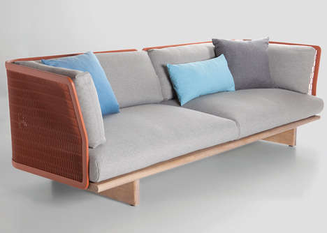 Architectural Mesh Furniture - Patricia Urquiola Expanded Metal Mesh for This Collection for Kettal