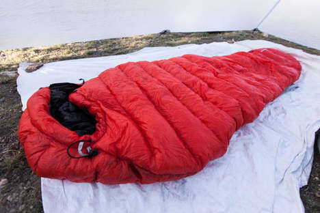 Lightweight Sleeping Bags - The Mtn Speed Camping Sleeping Bag is Virtually Weightless