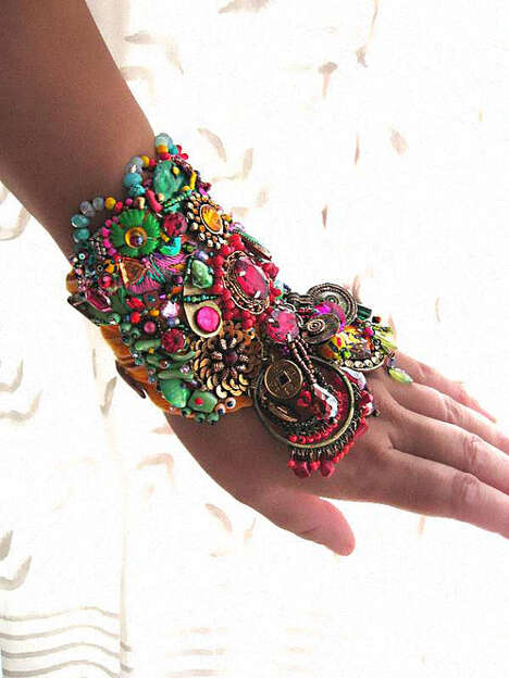 Bohemian Bangle Accessories - Etsy