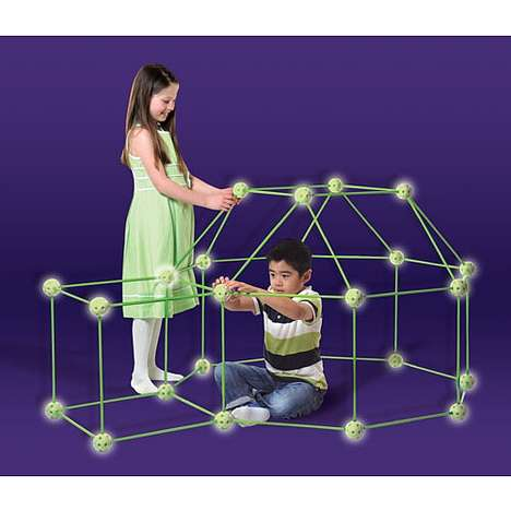 Glow-in-the-Dark Forts - Everest Releases a Children