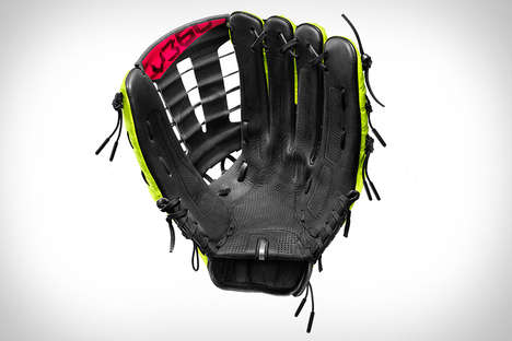 Perforated Baseball Gloves - The Nike Vapor 360 Baseball Glove Has Broken-in Feel