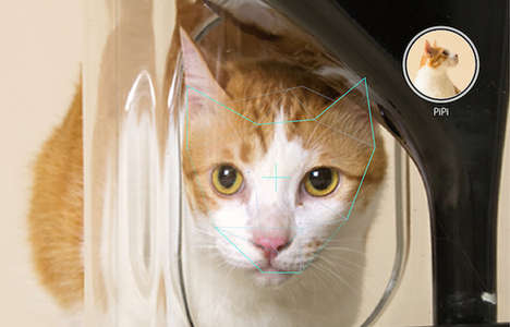 Facial Recognition Cat Feeders - The Bistro Cat Feeder Has Feline Facial Recognition for Portioning