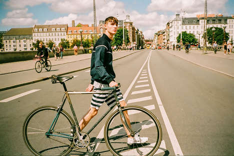 Nostalgic Cycling Collections - The Rascals SS 2015 Collection Continues Its 90s Simplicity