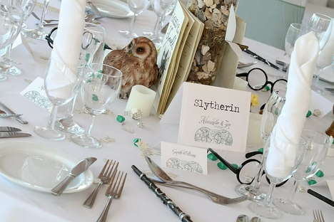 Whimsical Wizard Weddings - A Harry Potter Themed Wedding Needs No Comment