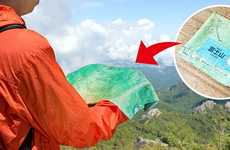 Geographic Hiking Handkerchiefs